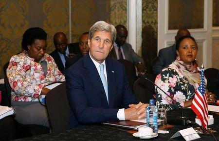 US Secretary of State Kerry says pleased with Kenya's electoral reforms