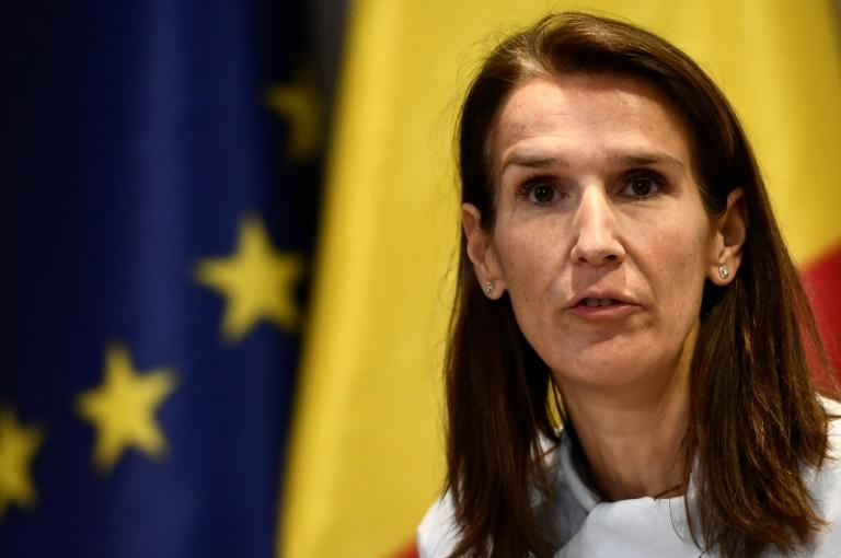 Budget Minister Sophie Wilmes has been picked to be Belgium's new prime minister (AFP Photo/DIRK WAEM)