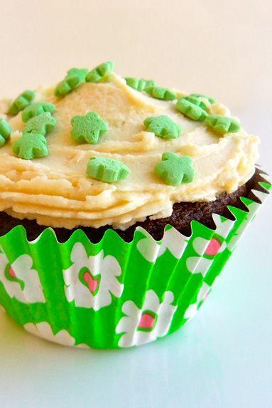 """<p>There's more to beer on St. Patrick's Day than turning it green. Take these cupcakes, for example — you can have your beer and eat it too.</p><p><em><a href=""""https://www.goodhousekeeping.com/holidays/more-holidays/recipes-with-beer#slide-1"""" rel=""""nofollow noopener"""" target=""""_blank"""" data-ylk=""""slk:Get the recipe for Chocolate Stout Cupcake »"""" class=""""link rapid-noclick-resp"""">Get the recipe for Chocolate Stout Cupcake »</a></em></p><p><strong>RELATED:</strong> <a href=""""https://www.goodhousekeeping.com/food-products/g33010627/best-beer-brands/"""" rel=""""nofollow noopener"""" target=""""_blank"""" data-ylk=""""slk:15 Best Beers to Buy and Drink All Season Long"""" class=""""link rapid-noclick-resp"""">15 Best Beers to Buy and Drink All Season Long</a></p>"""