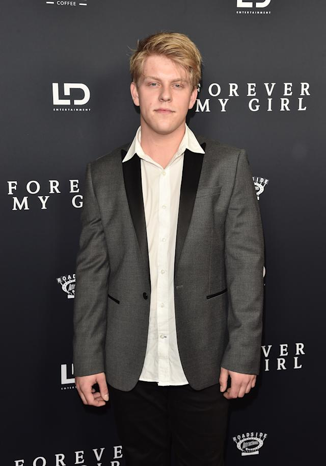 Jackson Odell, pictured in January. (Photo: Alberto E. Rodriguez/Getty Images)