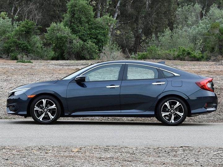 2016 Honda Civic Sedan Touring Profile Photo