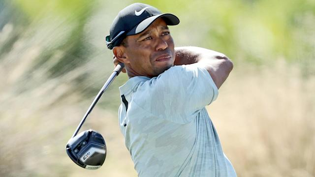 """""""I don't hit the ball anywhere near as far as I did earlier in the year or the summer, but it's spinnier and the ball's in play,"""" Woods said."""