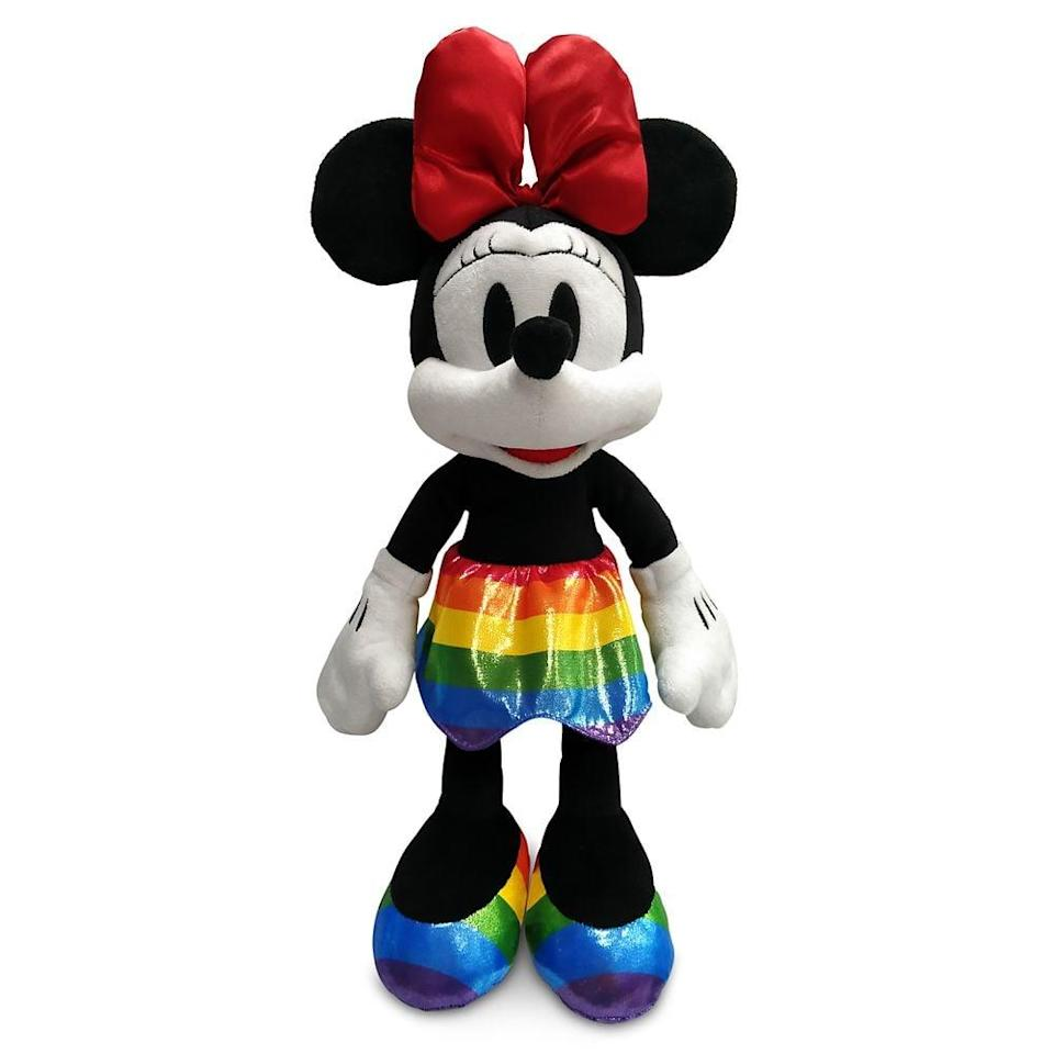 <p>The <span>Minnie Mouse Plush</span> ($25) will make an adorable addition to your collection. </p>