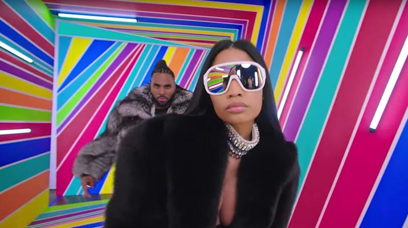 See Nicki Minaj, Ty Dolla $ign Join Jason Derulo for Colorful 'Swalla' Video