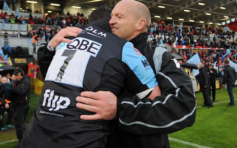 This is Gregor Townsend's final season as Glasgow coach - Rex Features