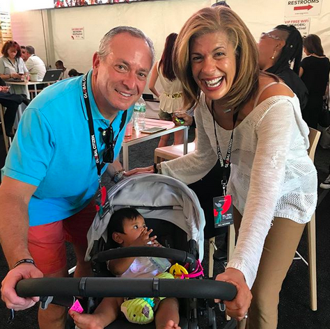"<p>Party of three! The new mom beamed in this pic with her daughter, Haley Joy, and boyfriend, Joel Schiffman. ""Had fun at the @globalcitizenfestival this weekend!"" she wrote. ""Haley's first concert in Central Park xo."" (Photo: <a href=""https://www.instagram.com/p/BZcS_KTAVP9/?hl=en&taken-by=hodakotb"" rel=""nofollow noopener"" target=""_blank"" data-ylk=""slk:Hoda Kotb via Instagram"" class=""link rapid-noclick-resp"">Hoda Kotb via Instagram</a>) </p>"