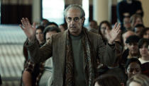 """This image released by Netflix shows Stanley Tucci n in a scene from """"Worth."""" (Netflix via AP)"""