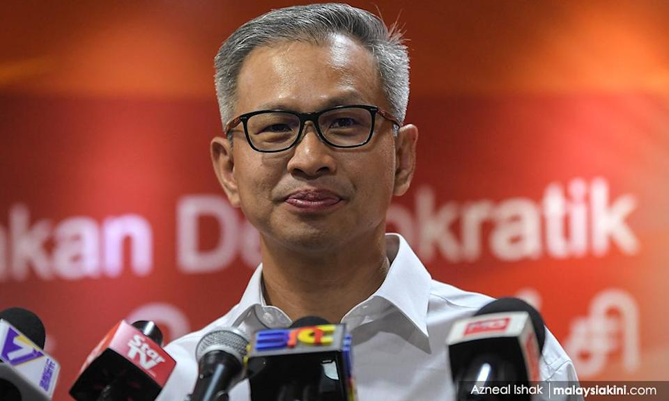 Harapan ready for CSA if PM offers Muhyiddin's deal - Tony Pua
