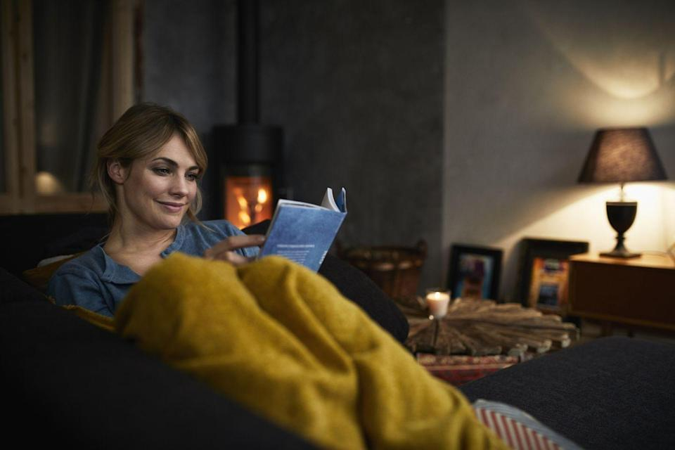 """<p>Make yourself a cup of tea, grab a comfy blanket and cozy up with a good book. Escaping into another world feels especially great when the weather outside gets frightful. </p><p><strong>RELATED: </strong><a href=""""https://www.goodhousekeeping.com/life/entertainment/g30456677/best-books-of-2020/"""" rel=""""nofollow noopener"""" target=""""_blank"""" data-ylk=""""slk:The 56 Best Books of 2020 to Add to Your Reading List ASAP"""" class=""""link rapid-noclick-resp"""">The 56 Best Books of 2020 to Add to Your Reading List ASAP</a></p>"""
