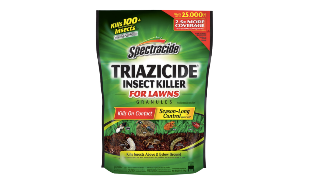 This pesticide kills armyworms and other pests on contact. (Photo: Lowe's)