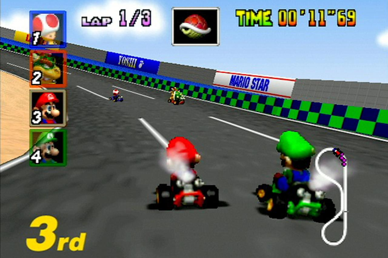 See the 25-Year Evolution of Mario Kart