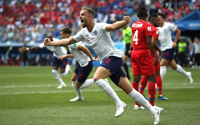 2:19PM 60 min England 5-0 Panama Panama move the ball to the right and back again as England set themselves in compact defensive lines to win the ball back. Stones has three runners upfield but doesn't make the right choice. 2:17PM 58 min England 5-0 Panama Panama continue to engage in some after-tackle filth, hands in faces, sly kicks and digs. 2:16PM 56 min England 5-0 Panama Pickford taps it to Walker who plays it up to Henderson and he gives Kane a hare to chase with a long ball up the inside-right channel. Escobar, who has improved, gets there first. 2:15PM 55 min England 5-0 Panama No criticism that England have not resumed as they finished the half. They're trying to find their rhythm. 2:13PM 54 min England 5-0 Panama Fingers burnt by the penalty, they keep their hands largely to themselves this time. But Trippier's centre is well-defended. Possession: England vs Panama 2:12PM 52 min England 5-0 Panama With all the caveats about how useless Panama have been defensively and in the final third, Sterling is playing very well, adopting some excellent positions and playing some penetrating passes. England have a throw on the right and give it to Loftus-Cheek who tries to round Escobar by the byline but is tackled. England corner. Panama;s defenders are warned again. 2:09PM 50 min England 5-0 Panama Kane has the ball on halfway and Sterling hurtles out of the blocks beyond the defence when Kane releases it. Brilliant run but Kane's pass was too heavy. They had beaten the offside trap but the throughball was too close to Penedo who pelted out to win the race with Sterling. 2:07PM 48 min England 5-0 Panama But Barcenas misjudges Perez's run and plays the wrong pass into the box. England pounce on it and set off on a rapid counter. 2:06PM 47 min England 5-0 Panama Panama are passing the ball around slowly, keen, one thinks, not to be humiliated further. They inject some pace now and work a triangle up the right. 2:05PM 46 min England 5-0 Panama England attack up the r