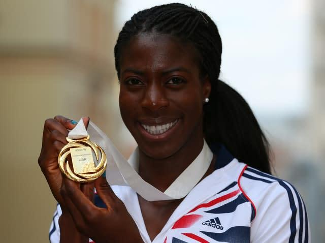 Christine Ohuruogu triumphed over 400m in Moscow six years ago (Dave Thompson/PA)