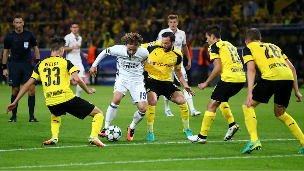 Luka Modric Borussia Dortmund Real Madrid Champions League 27092016