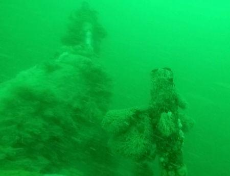 The well-preserved wreck of a World War One German submarine, possibly still containing the bodies of 23 crew members, found off the Belgian coast, is seen in this handout picture provided by KB Vlaanderen on September 19, 2017. KB Vlaanderen- Tomas Termote/Handout via REUTERS