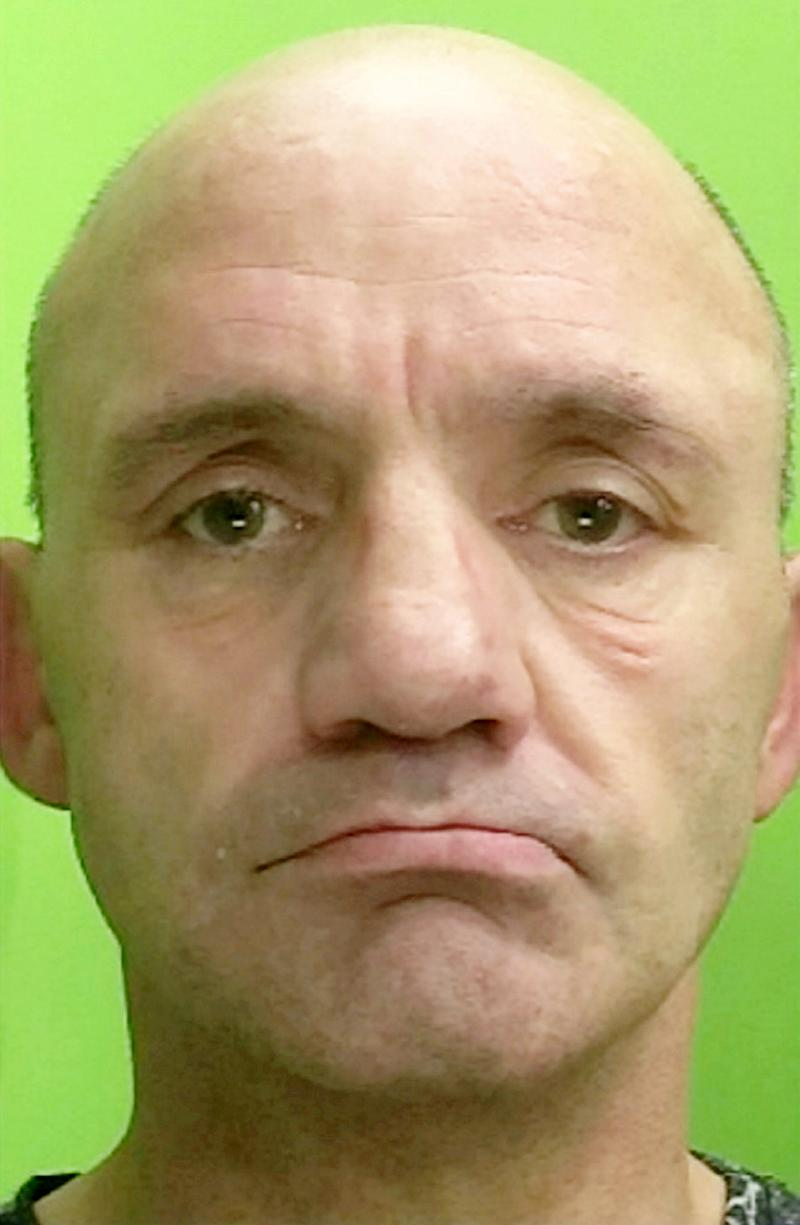 Paul Johnson, 50, helped himself to a meal after breaking into student accommodation in Nottingham during the early hours of April 9. (Picture: SWNS)