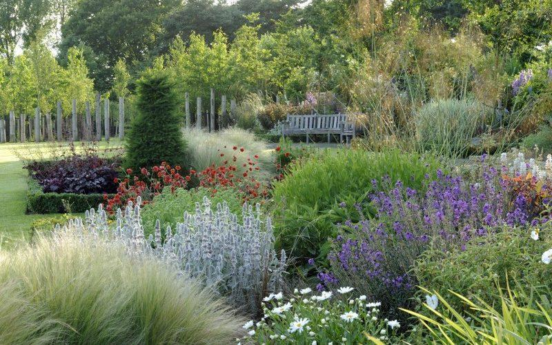 There are 15 acres to explore at this garden, from the enclosed courtyard and walled gardens to an extensive lawn - National Garden Scheme