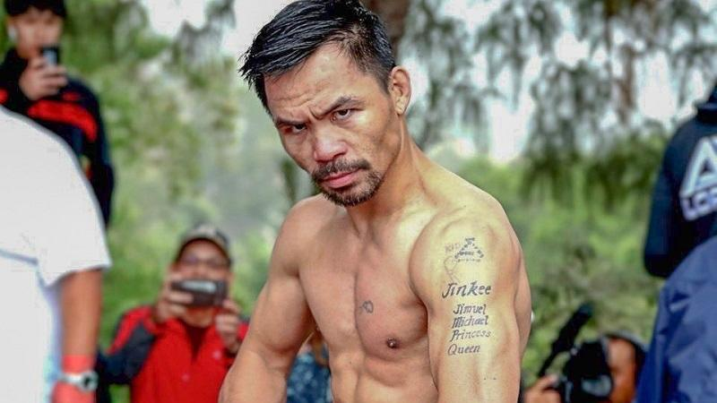 Manny Pacquiao is the only person to ever win world titles in eight divisions. (PHOTO: Evolve MMA)