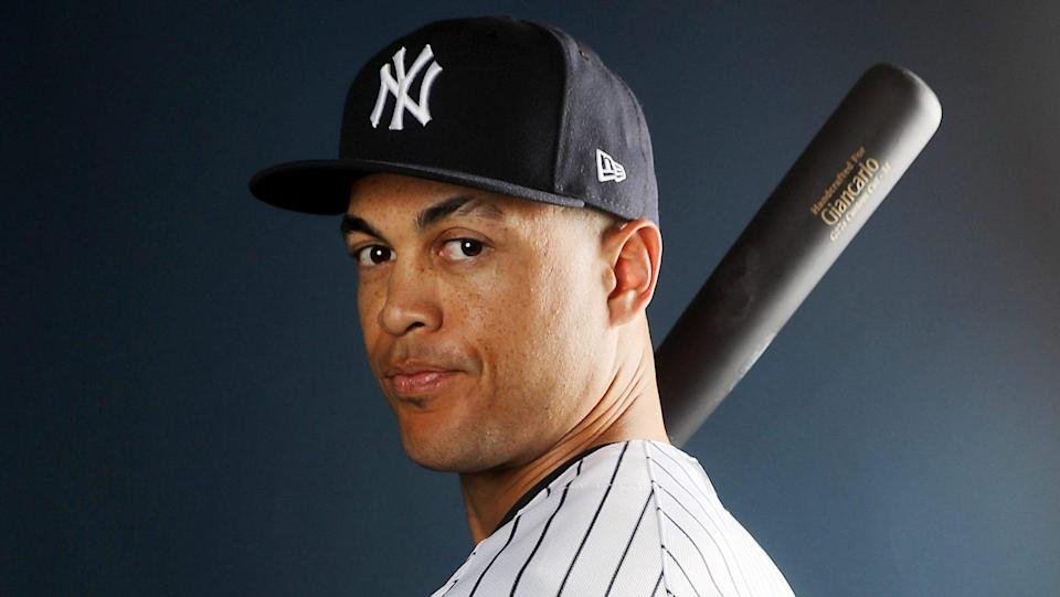 Hey, have you heard? Giancarlo Stanton is on the Yankees now. (AP)