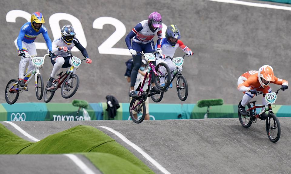 Great Britain's Kye Whyte in action (Danny Lawson/PA) (PA Wire)