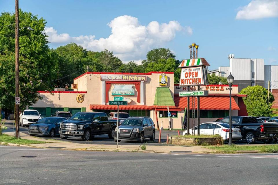 When The Open Kitchen opened in 1952, it became Charlotte's first pizzeria.