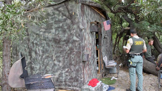 Camouflaged Residence Discovered in California Park