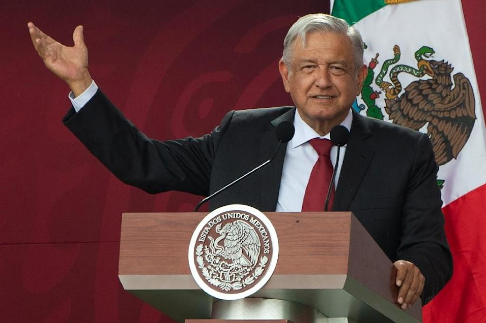 """Mexican President Andres Manuel Lopez Obrador is launching an """"Institute to Return What Has Been Robbed to the People"""" with an auction of luxury cars seized from criminals (AFP Photo/Pedro PARDO)"""