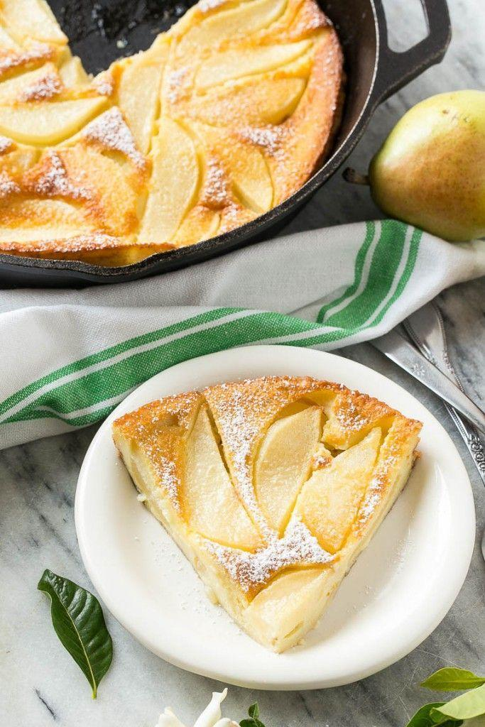 "<p>It's the ooey gooey dessert you won't be able to stop eating.</p><p>Get the recipe from<span class=""redactor-invisible-space""> <a href=""http://www.dinneratthezoo.com/pear-custard/"" rel=""nofollow noopener"" target=""_blank"" data-ylk=""slk:Dinner At The Zoo"" class=""link rapid-noclick-resp"">Dinner At The Zoo</a>.</span></p>"