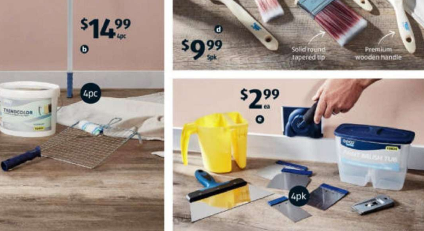 Aldi painting special buys