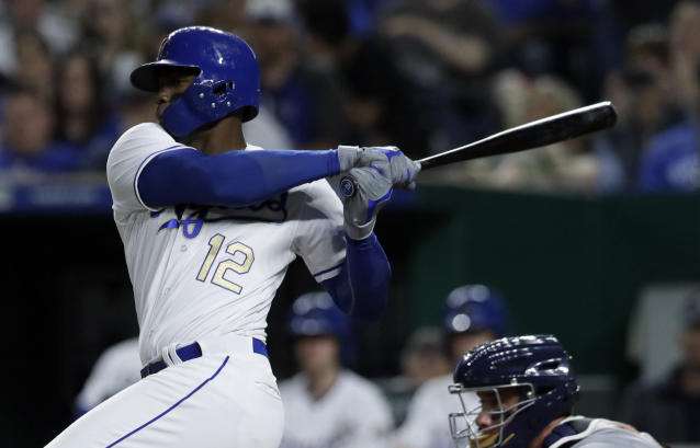Jorge Soler is firing on all cylinders right now. (AP Photo)