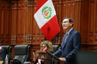 Peru's President Martin Vizcarra faces impeachment trial