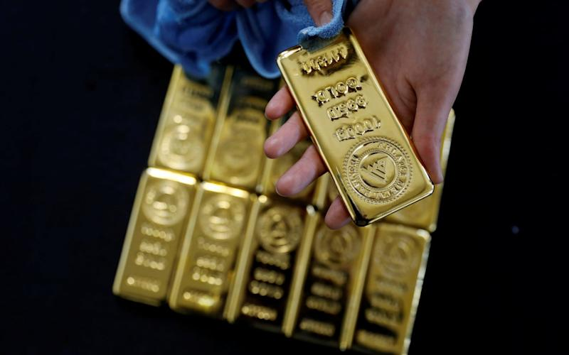Gold has long been relied upon by investors as a way to preserve wealth - REUTERS