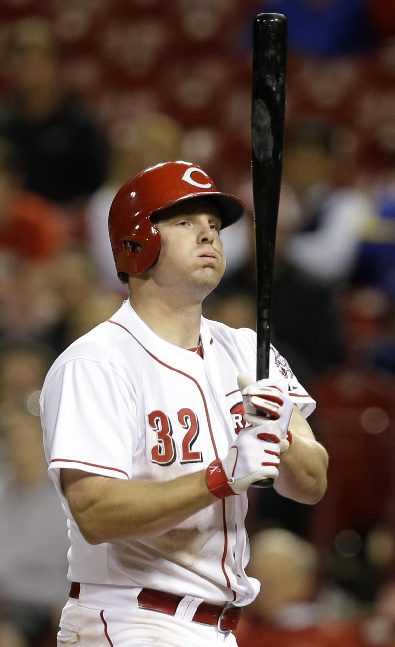 Reds' Bruce has surgery on knee cartilage