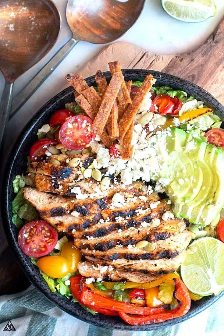 """<strong>Get the <a href=""""https://www.thelittlepine.com/low-carb-taco-salad/"""" target=""""_blank"""" rel=""""noopener noreferrer"""">Low Carb Taco Salad</a> recipe from the Little Pine.</strong>"""