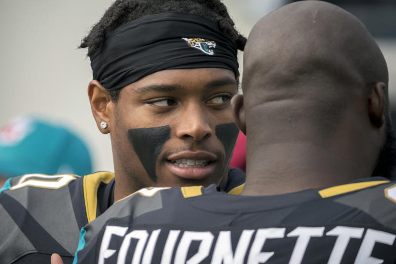 It didn't take Jalen Ramsey long to stand out for the Jaguars since he was drafted in 2016. (AP)