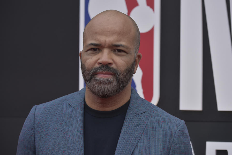 Jeffrey Wright arrives at the NBA Awards on Monday, June 24, 2019, at the Barker Hangar in Santa Monica, Calif. (Photo by Richard Shotwell/Invision/AP)