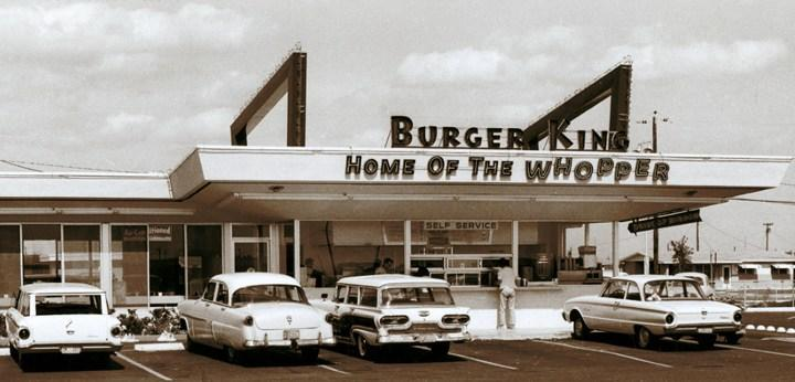 Burger King first location