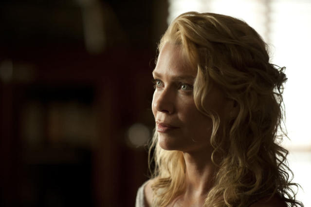 "Andrea (Laurie Holden) in ""The Walking Dead"" episode, ""Walk With Me."""