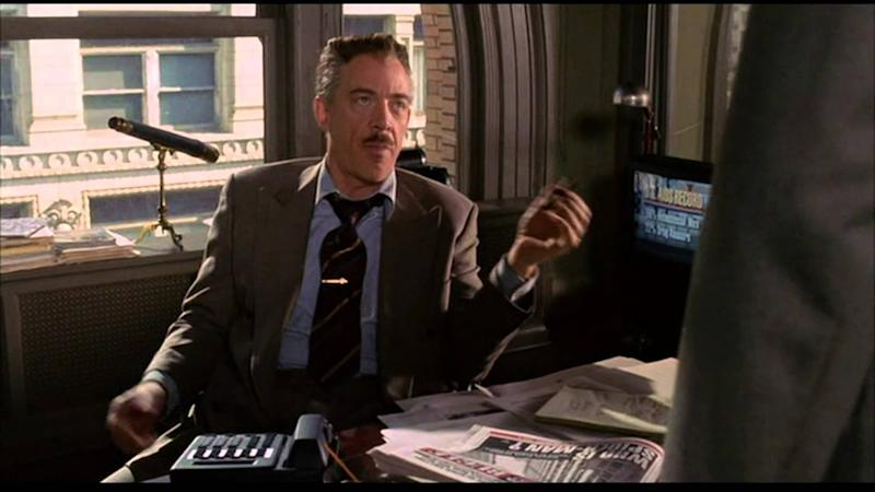J. Jonah Jameson is back (Credit: Sony)