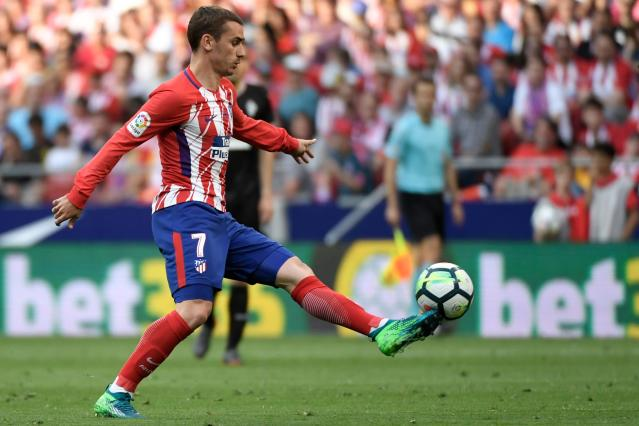 Antoine Griezmann has risen to stardom at Atletico Madrid. (Getty)