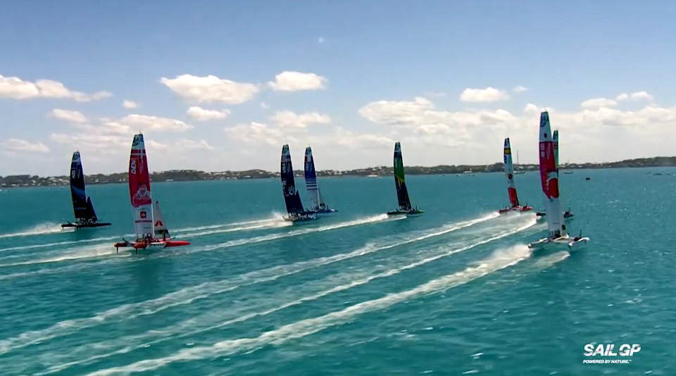 Great Britain are one of eight teams who competed in Plymouth last weekend as part of SailGP's innovative new Impact League
