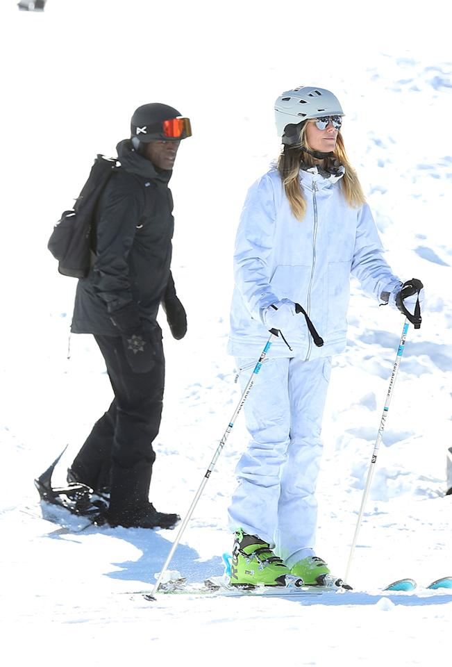 "<p>The old saying ""time heals all wounds"" holds true in Heidi Klum and Seal's case. Five years after announcing their split, the exes took a vacation together over the holidays. The model and singer hit the slopes of Aspen, <span>Colo.</span>, with their four children. While Heidi and Seal are hardly besties, they ""<a rel=""nofollow"" href=""http://www.dailymail.co.uk/tvshowbiz/article-4208616/Heidi-Klum-discusses-split-ex-husband-Seal.html"">make it work</a>"" for the sake of their children, according to the <i>America's Got Talent</i> judge. (Photo: FameFlynet/AKM-GSI) </p>"