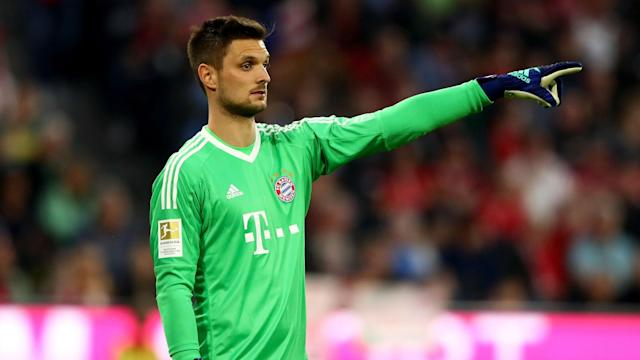 Bayern Munich's hat-trick hero in the DFB-Pokal semi-final passed credit for the massive victory to the side's goalkeeper after another fine display