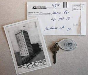 Decades-Old Room Key Delivered to San Francisco Union Square Hotel