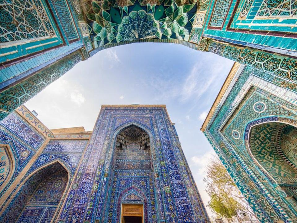 The tour stops in Samarkand, Uzbekistan (Getty Images/iStockphoto)