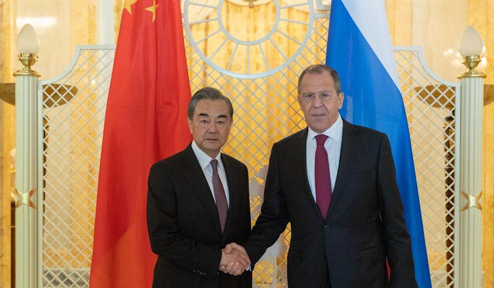 China-Russia relations are unrivalled, Beijing warns before US' Mike Pompeo meets Vladimir Putin
