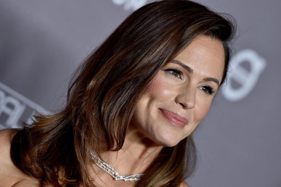 Jennifer Garner has admitted she asked permission from her dad to get her ears pierced at the age of 48, pictured November 2019. (Getty Images)