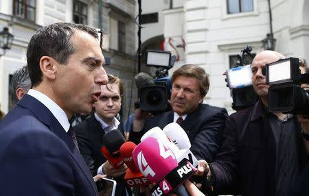 Austria's chancellor says he expects early election in fall