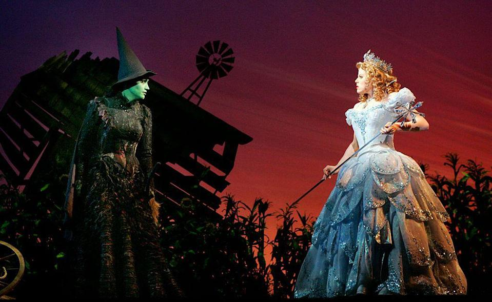 """<p>If you're planning to go as Elphaba, your best friend can dress up as Glinda—or vice versa! You'll need a dramatic blue gown, crown, and scepter to master Glinda's look from <em>Wicked</em>.</p><p><a class=""""link rapid-noclick-resp"""" href=""""https://www.amazon.com/DRESSTELLS-Length-Evening-Blue-M-L/dp/B06VVHG656/?tag=syn-yahoo-20&ascsubtag=%5Bartid%7C2164.g.37050429%5Bsrc%7Cyahoo-us"""" rel=""""nofollow noopener"""" target=""""_blank"""" data-ylk=""""slk:SHOP BLUE TULLE SKIRTS"""">SHOP BLUE TULLE SKIRTS</a></p><p><a class=""""link rapid-noclick-resp"""" href=""""https://www.amazon.com/Frcolor-%EF%BC%8CRhinestone-Crystal-Headband-Princess/dp/B074CV2CN7?tag=syn-yahoo-20&ascsubtag=%5Bartid%7C2164.g.37050429%5Bsrc%7Cyahoo-us"""" rel=""""nofollow noopener"""" target=""""_blank"""" data-ylk=""""slk:SHOP CROWNS"""">SHOP CROWNS</a></p><p><a class=""""link rapid-noclick-resp"""" href=""""https://www.amazon.com/MonkeyJack-Princess-Scepter-Bridal-Wedding/dp/B0791DG88H/?tag=syn-yahoo-20&ascsubtag=%5Bartid%7C2164.g.37050429%5Bsrc%7Cyahoo-us"""" rel=""""nofollow noopener"""" target=""""_blank"""" data-ylk=""""slk:SHOP SILVER SCEPTERS"""">SHOP SILVER SCEPTERS</a></p>"""