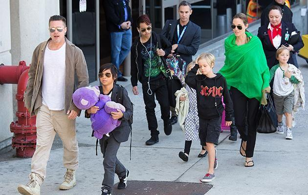 Brangelina are parents to Maddox, Pax, Zahara, Shiloh, Knox and Vivienne. Photo: Getty 2011